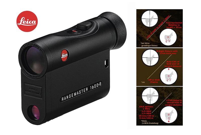 Дальномер лазерный Leica Rangemaster CRF 1600-B