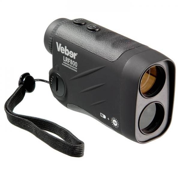 Дальномер лазерный Veber 6x25 LRF800 black, арт. 22376