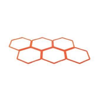 Тренировочная напольная сетка Adidas (6 гексагональных сот), арт. ADSP-11503