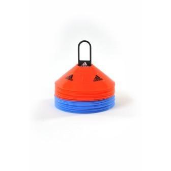 Фишки-конусы Adidas (набор: 30 штук+стойка), арт. ADSP-11505