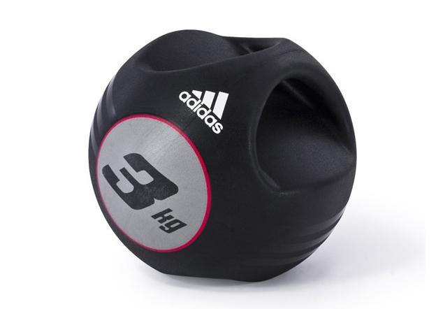 Медицинбол Adidas с ручками 3кг, арт. ADBL-10412