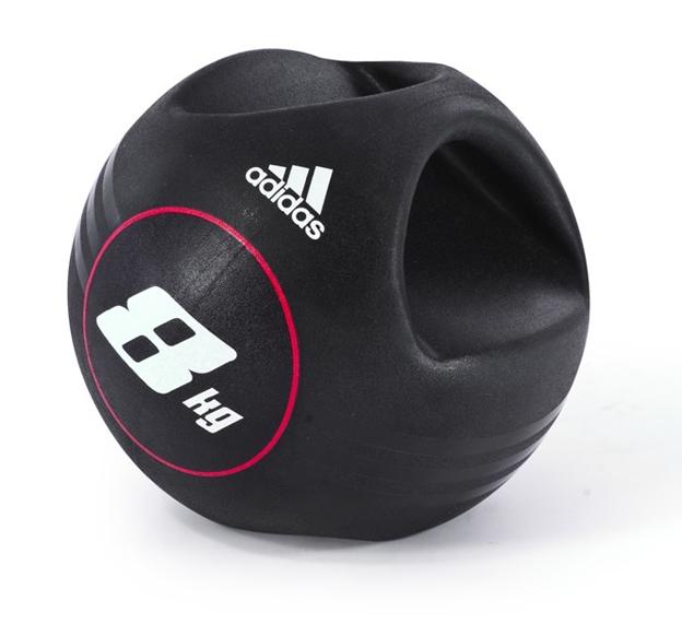Медицинбол Adidas с ручками 8кг, арт. ADBL-10414