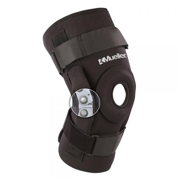 Шарнирный бандаж на колено Mueller Pro Level Hinged Knee Brace Deluxe