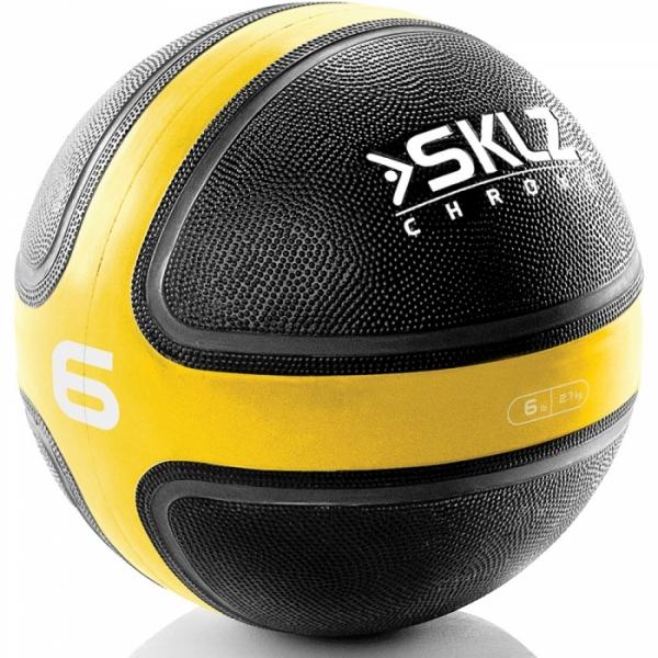 Тренировочный мяч (медицинбол) SKLZ Medicine 2.7 кг, арт. CRM-MB06-02