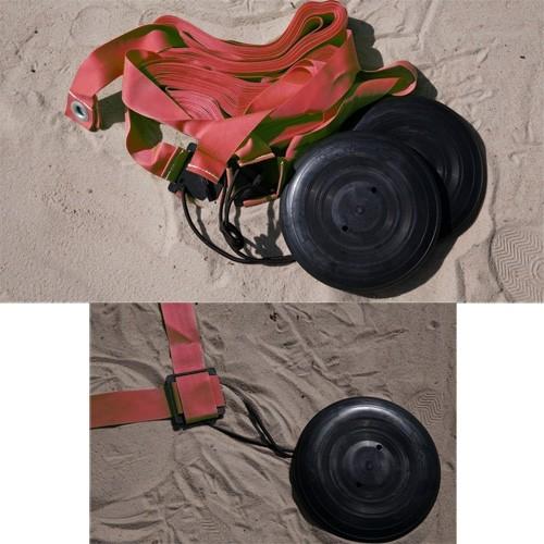 Комплект KV.REZAC для разметки площадки для пляжного волейбола, красный