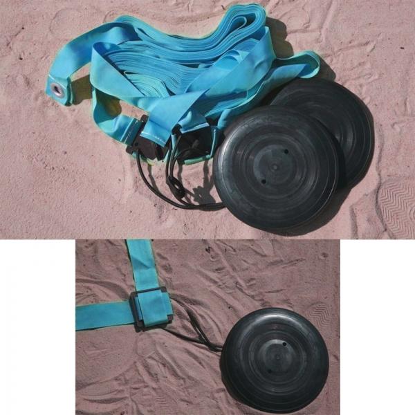 Комплект KV.REZAC для разметки площадки для пляжного волейбола, синий