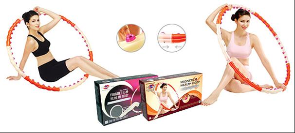 Массажный обруч (Магнетик) Magnetic Health Hoop II (1.2 кг)