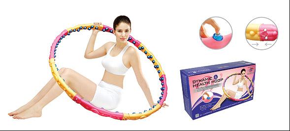 Массажный обруч DYNAMIC  Health Hoop W 2.3 Kg