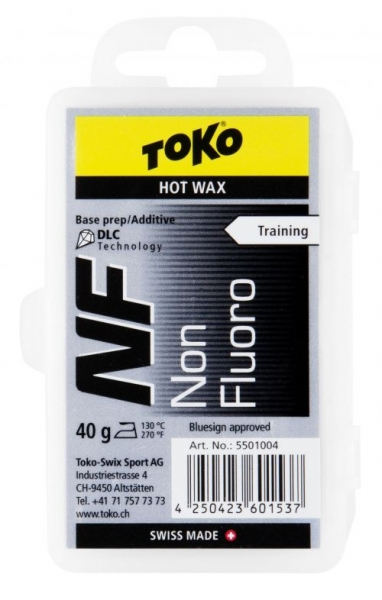 Парафин присадка TOKO NF Hot Wax черный 40гр