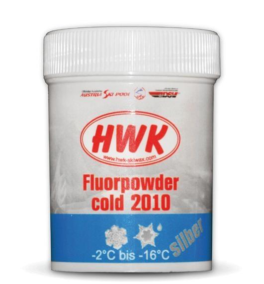 Порошок HWK Fluorpowder Cold 2010 silver -2/-16 °C