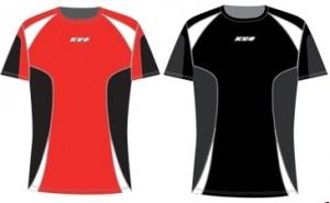 Футболка KV+ Active унисекс (красный/черный, черный/серый)