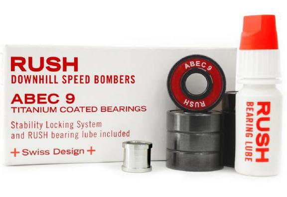 Комплект подшипников RUSH Downhill ABEC-9 Titanium