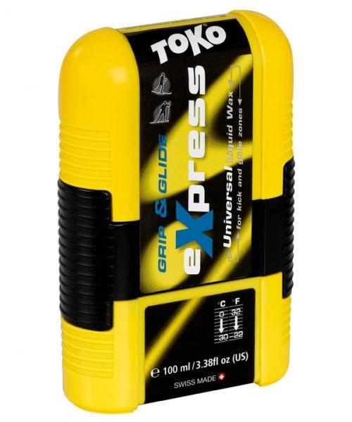 Парафин жидкий универсальный TOKO Grip&Glide Pocket, 100 мл, от 0 °С до -30 °С