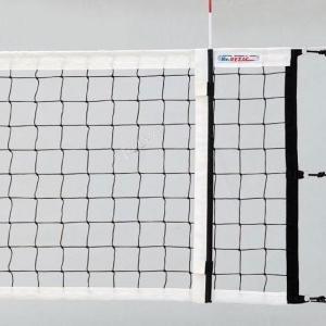 Сетка для волейбола Kv.Rezac официальная черная