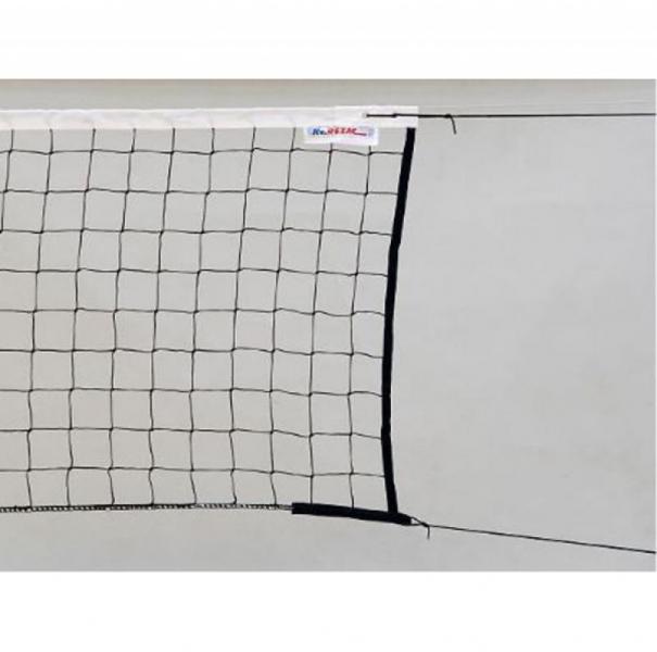 Сетка для волейбола Kv.Rezac любительская черная