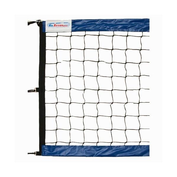 Сетка для пляжного волейбола Kv.Rezac профессиональная черно-синяя