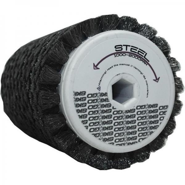 Роторная щетка стальная SkiGO Steel 120mm стальная
