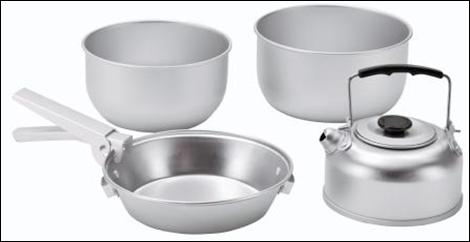 Набор посуды Easy Camp ADVENTURE COOK SET S