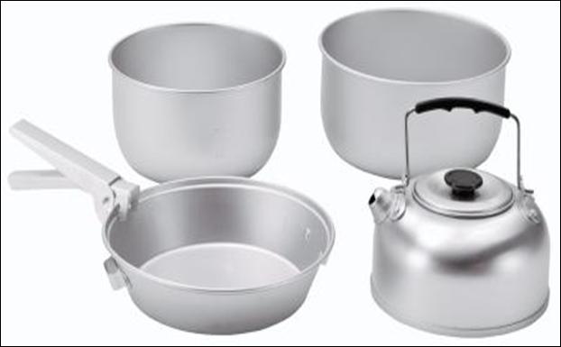 Набор посуды Easy Camp ADVENTURE COOK SET L, арт. 580037L