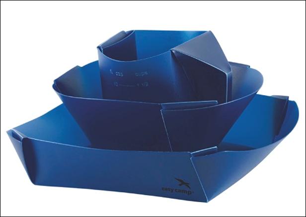 Набор складывающейся посуды Easy Camp FOLD FLAT DINNER SET, арт. 680058