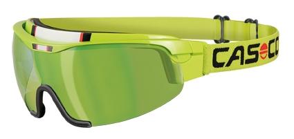 Очки-маска CASCO Nordic Spirit 2 Carbonic Lime Green