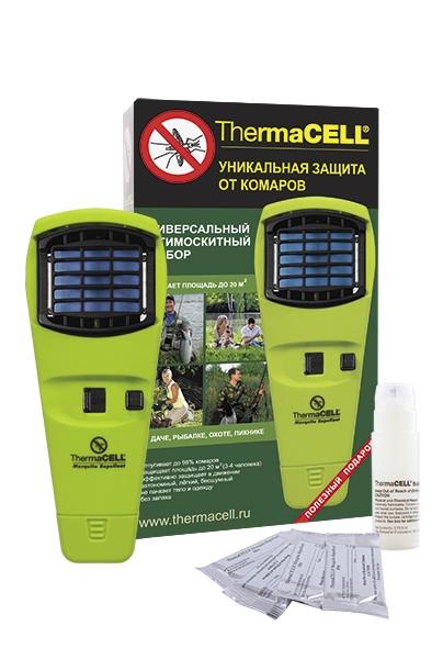 Устройство для защиты от комаров ThermaCELL (лайм)