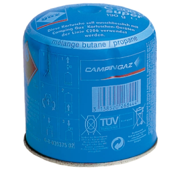 Картридж газовый Campingaz C206, арт. 3000002293
