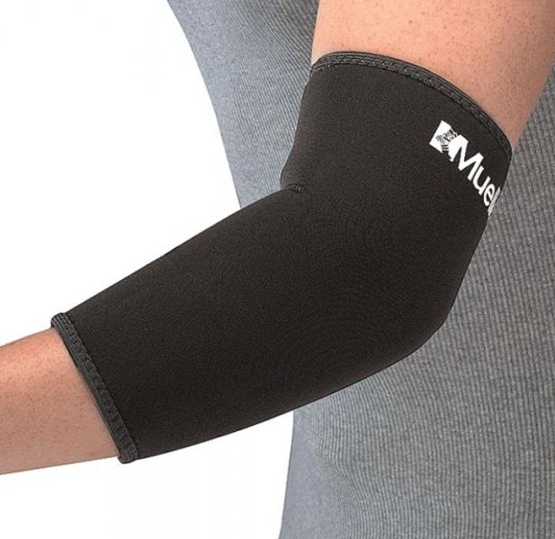 Налокотник из неопрена для фиксации локтевого сустава Mueller 414 Elbow Sleeve Neoprene