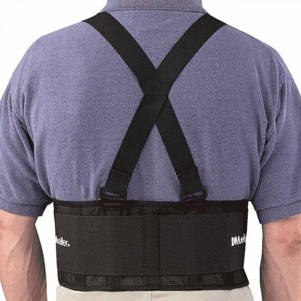 Мягкий корсет с регулируемыми подтяжками Mueller 252 Back Support with Suspenders