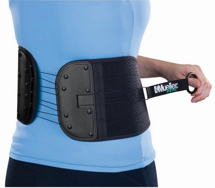 Суппорт для спины и живота Mueller 86741 Mueller Green Adjustable Back and Abdominal Support