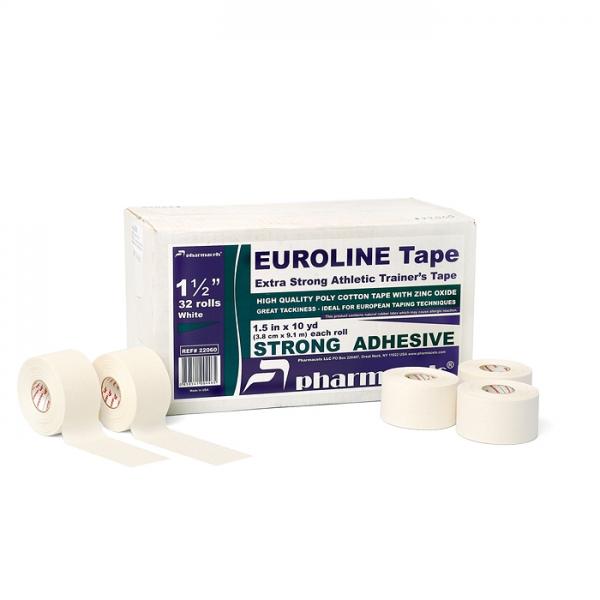 Спортивный тейпEUROLINE Tape Pharmacels™ Поликотон ZnO