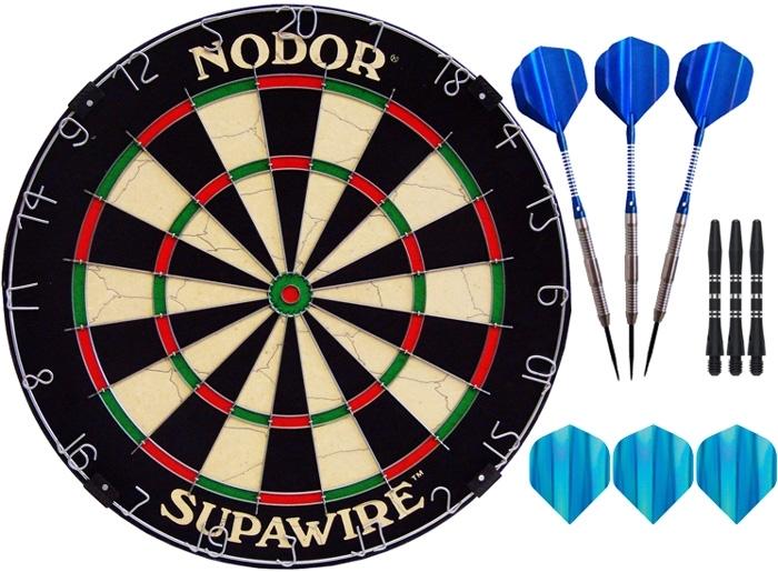 Комплект для игры в Дартс Nodor Sport (средний уровень)