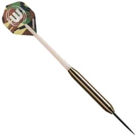 Дротики Winmau Nickel Silver Commando steeltip (начальный уровень)