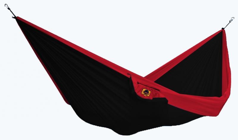Одноместный гамак Ticket to the Moon Black/Red