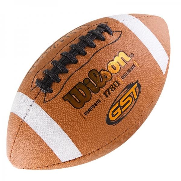 Мяч для американского футбола Wilson GST Official Composite