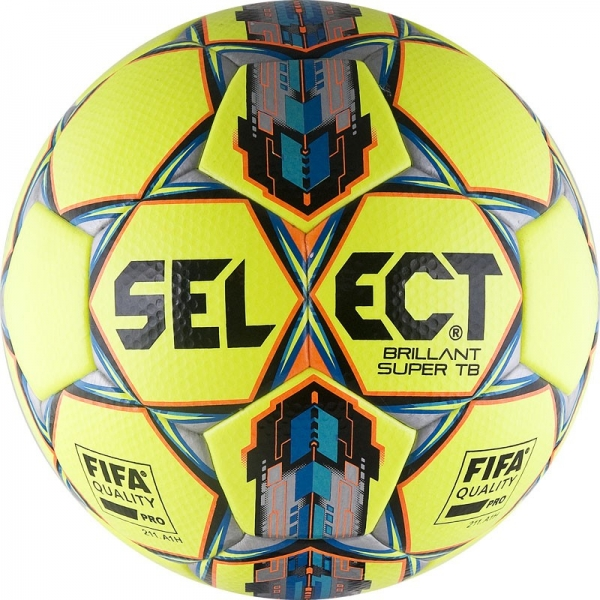 Мяч футбольный Select Brillant Super FIFA TB YELLOW
