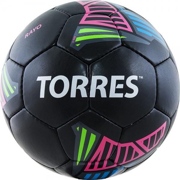 Мяч футбольный TORRES Rayo Black