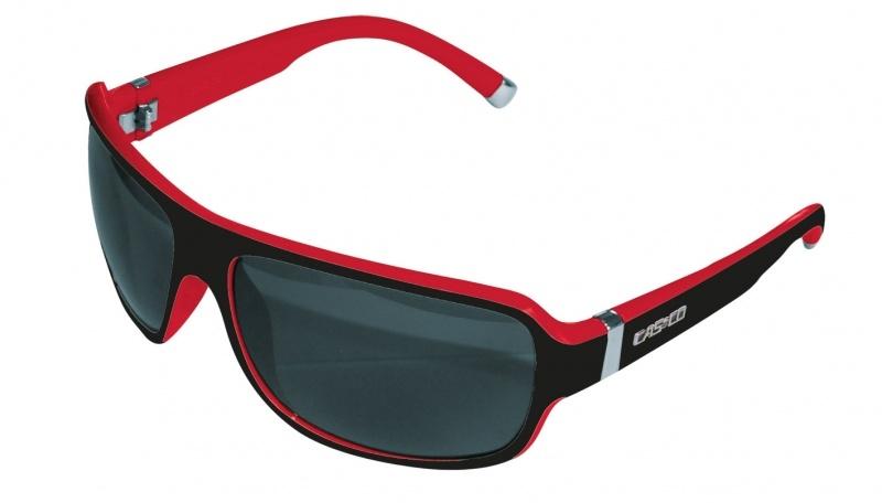 Очки CASCO SX-61 BICOLOR, black red