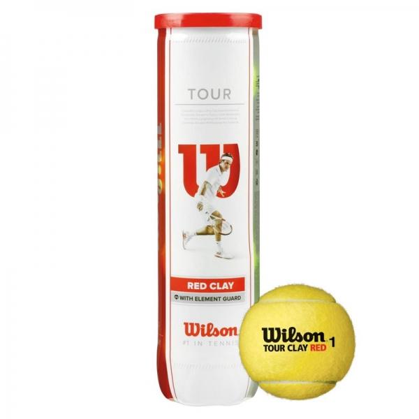 Мяч для большого тенниса Wilson Tour Clay Red