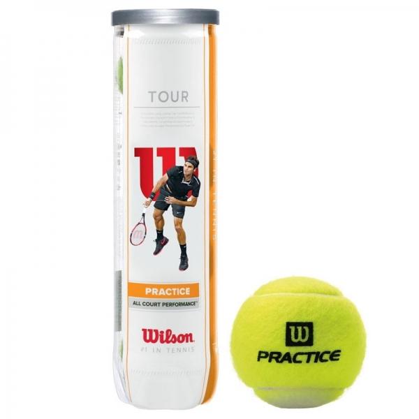 Мяч для большого тенниса Wilson Tour Practice