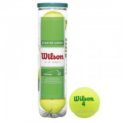 Мяч для большого тенниса WILSON Starter Green Play