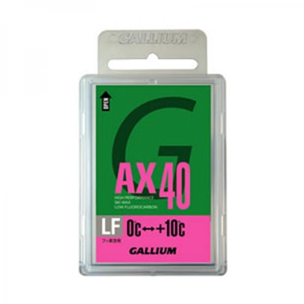 Парафин с содержанием фтора GALLIUM GIGA AX 40, розовый 0…+10°С
