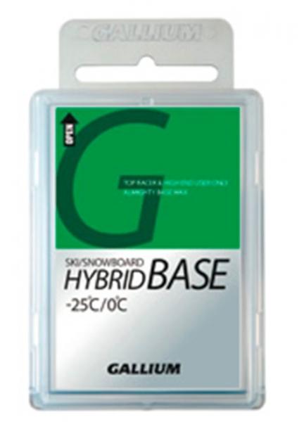 Парафин без содержания фтора GALLIUM Hybrid Base Wax 0°…-25°C