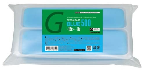 Парафин без содержания фтора GALLIUM Extra Base Blue Wax -3°…-12°C