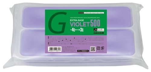 Парафин без содержания фтора Gallium Extra Base Violet Wax -4°…+3°C