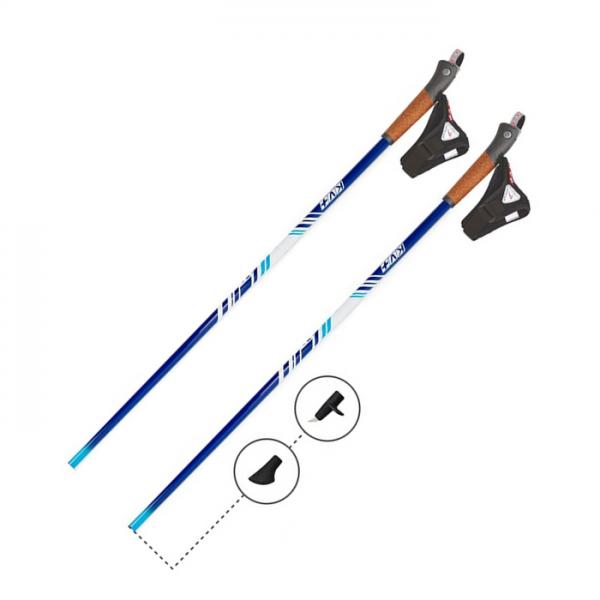 Палки для скандинавской ходьбы KV+FUN Clip Comfort Nordic Walking pole