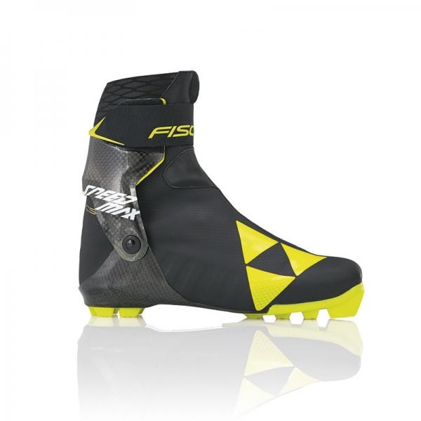 Гоночные лыжные ботинки для конькового хода FISCHER SPEEDMAX SKATE 17-19