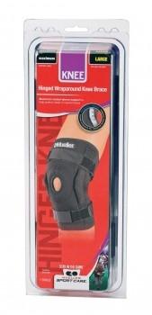 Hinged Wraparound Knee Brace Mueller, бандаж-стабилизатор на колено шарнирный