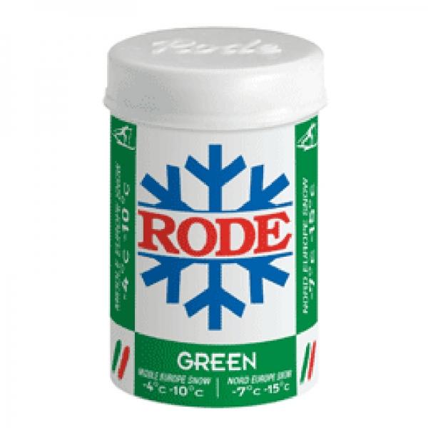 Мазь держания без содержания фтора Rode P20 Green  -4°C...-10°C