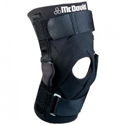 Бандаж на колено McDavid Deluxe Hinged Knee Support шарнирный, с ограничителями разгибания